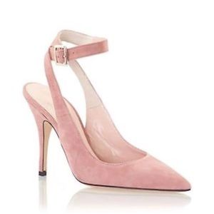Kate Spade Luminous pointed suede heels